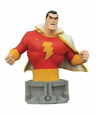 JLA JUSTICE LEAGUE ANIMATED SERIES SHAZAM RESIN BUST STATUE DIAMOND SELECT NEW