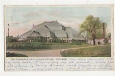 The Conservatory Lincoln Park Chicago Usa 1904 Postcard 477a