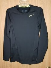 Nike pro Fit Dry Long Sleeve Shirt Mens Small fitted thick compression