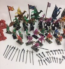 New 120 Pcs Dragon Figurines Soldier Set Knight Kids Fantasy Toys Medieval Times