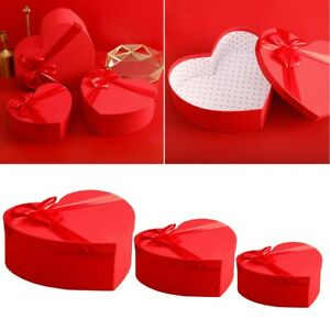 Box Gift Box Florist Gift Heart Shaped Packaging Set Valentine's Day Brand New