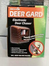 Bird-X Ultrasonic Deer Repellent-4000 sq. ft Range #DG