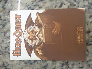HeroQuest - Instruction Booklet