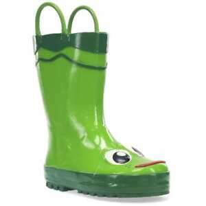Toddler Western Chief Toddler Little and Big Boy Printed Rain Boots Green