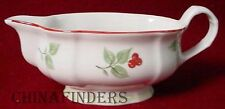VILLEROY & BOCH china JOY NOEL pattern Gravy Boat NO Underplate