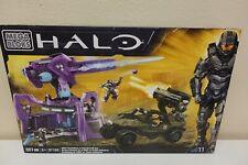 Megabloks Halo UNSC Rockethog vs Anti Aircraft Gun #96923U SEALED (M7)