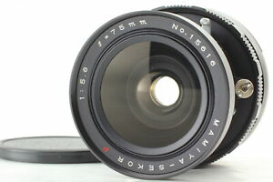 [Exc+4] Mamiya Sekor P 75mm f5.6 Lens for Universal Press Super 23 From JAPAN