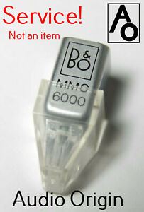Repair Service MMC3000 MMC4000 MMC5000 MMC6000 Bang & Olufsen stylus B&O