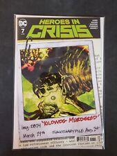 Heroes in Crisis #7 B Cover DC NM Comics Book