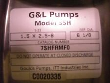 7SHFRMF0 - Goulds Water Technology Industrial Pump