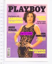 PLAYBOY cover 1998 - SABRINA SALERNO - postcard - cartolina