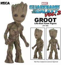 Marvel Comics Guardians of the Galaxy 2 LIFE SIZE Baby Groot Foam Figure Neca