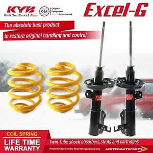 Front KYB EXCEL-G Shock Absorbers Super Low King Springs for HOLDEN Cruze JG JH