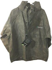 Frogg Toggs Mens All Purpose Rain Suit Stone/Black Sz L NWT 2 Piece Jacket Pants