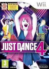 Just Dance 4 - Nintendo Wii - DISC ONLY