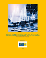 CPA Australia | Financial Reporting |Grade HD | To the Point Notes & Index 2021
