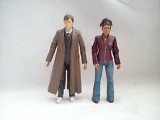 """Doctor Who BBC Action Figures The Doctor and Martha Jones """" scale"""