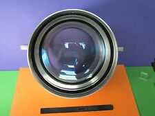 OPTICAL HUGE CONVEX CONCAVE MOUNTED LENS MIL SPEC LASER OPTICS AS PICTURED BN#36