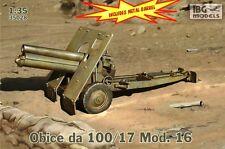 100mm OBICE DA 100-17 MOD.16 CANNONE ITALIANO #35028 1/35 IBG