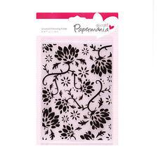 Docrafts Papermania planche de gaufrage 17.8x12.7cm Jardin Secret Usage sizzix