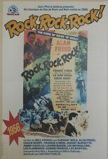 """ROCK,ROCK,ROCK"" Affiche entoilée  (Alan FREED, Frankie LYMON,LaVern BAKER)"