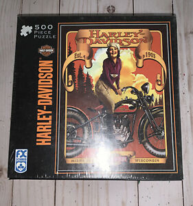 FX Schmid Harley Davidson Motor Cycles Classic Beauty 500 Piece Sealed New
