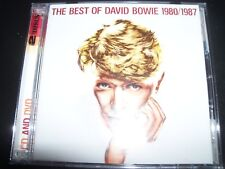 David Bowie – The Best Of David Bowie 1980 / 1987 CD DVD – Like New