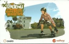 RARE / CARTE CADEAU : DECATHLON - SKATE BOARD ROLLER PLANCHE ROULETTES / CARD