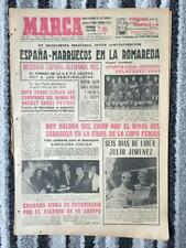 1966 FAIRS CUP SEMI FINAL Barcelona v Chelsea (PLAY-OFF) MARCA *DAY OF THE MATCH