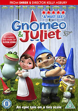GNOMEO AND JULIET - DVD - REGION 2 UK