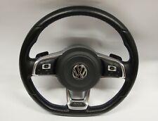 VW GOLF GTE  MULTIFUNCTION FLAT BOTTOM PADDLE SHIFT STEERING WHEEL