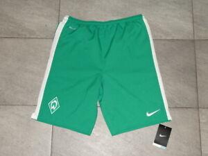 NIKE Jungen Fußball Shorts Hose Werder Bremen Gr. XL 158-170 cm 13-15 Jahre NEU!