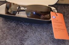 Imported Sport Sunglasses Dark Red Frames 100% UVA UVB MSRP $29.99