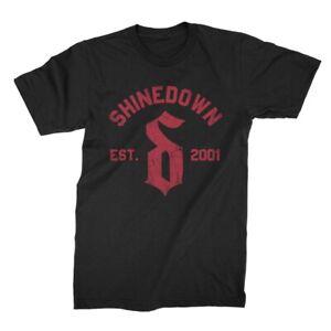 Authentic SHINEDOWN Heavy Scratch T-Shirt S M L XL 2XL NEW
