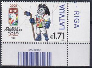 Latvia 2021 Sport, World Ice Hockey Championship MNH**