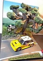 diorama route campagne nationale + Renault maxi turbo tour corse 82 1/43 neuf