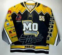 Pair 2012 US Roller Hockey Championships Missouri men's medium jersey home away