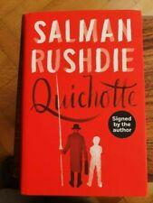 Quichotte by Salman Rushdie (Hardback) Booker Shorlist Signed/Dated