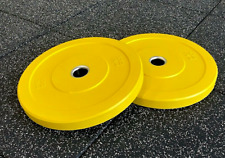 ☆COMMERCIAL GRADE☆ DFS 25 Lb Premium Olympic Bumper Plate PAIR