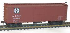 ESCALA H0 - Madera Boxcar SANTA FE 3 piezas 8097 NEU