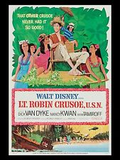 """Lt Robinson Crusoe RN 16"""" x 12"""" Reproduction Movie Poster Photograph"""