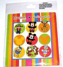 Retired Disney Pin SET✿Starter Booster Cuties Chip Dale Pluto Dog Mickey Pop Art