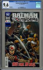 BATMAN AND THE OUTSIDERS #1 - CGC 9.6 - 1626864003