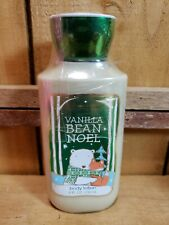 Bath and Body Works Holiday Traditions Vanilla Bean Noel 8oz Body Lotion Sealed