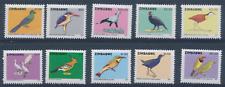 Zimbabwe - 2007 - Sc 1034 - 43 - Birds Definitives VF MNH cv=US$65.50