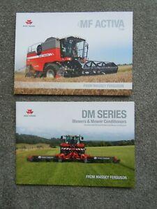 @Case IH Combine & Mowers Brochures@
