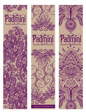 Padmini Natural Hand Rolled Incense, Made in India