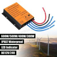 600W 12V/24V MPPT Wind Turbine Controller Overvoltage Speed Protection   *+