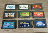 Lot Of 9 Nintendo Gameboy Advance Games