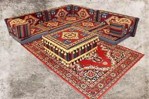 Orientalische Sitzecke, Sark Kösesi, 13-tlg. Orientalisches Sofa, Shisha-Ecke